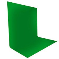 3m x 3m Green Muslin Background