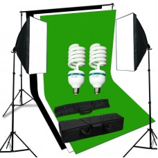 Softbox Kit 1.8 x 2.8m Chose Color Background Stand 2x3m 250W