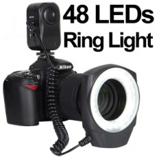 Ring-48  LED Light  Macro For Canon Nikon Sigma Lens