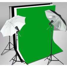 Photo Flash Strobe Light Stand Umbrella