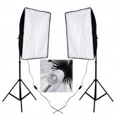 90w Flash Strobe Light Stand Softbox Kit