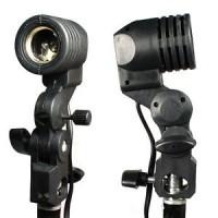 E27 Bulb Holder / Umbrella Holder Bracket Photo Light Lamp Mount