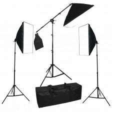 Softbox Set 335W Boom Arm