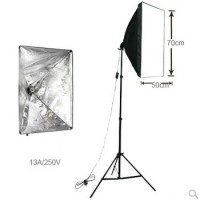Softbox Set of 1 Softbox 125W Bulb Light