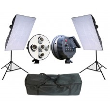 Softbox Set 450W Two Continuous Soft Box Light Kit 5 Head