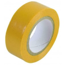 40233-5 PVC Yellow Rolls Electrical Insulating Tape 19MM X 20MTR
