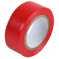 40233-3 PVC Red Rolls Electrical Insulating Tape 19MM X 20MTR