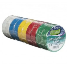 40233 PVC 10 Rolls Electrical Insulating Tape 19MM X 20MTR