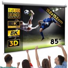 2819 Projector screen 152 x 152 cm roller screen