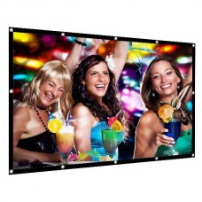120inch 16:9 Simple Projection Screen Foldable