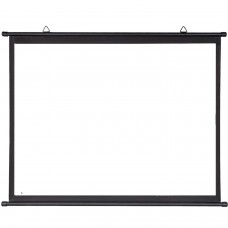 """Projection Screen 100"""" 221x125cm - Matt White Fabric 16:9 (87""""x 49"""") - Wall or Ceiling mountable"""