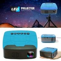 U20 Mini LED Pocket 680LM LED Projector Blue