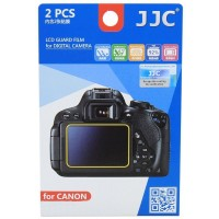JJC LCD Screen Protector Guard Film Cover for Canon