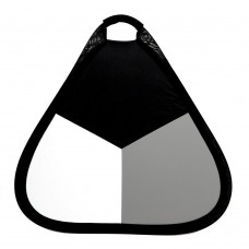 3-in-1 56cm Handheld Collapsible Triangle Reflector
