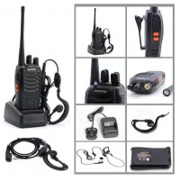 26144-1 One 16CH 5W Long Range Walkie Talkie 2-Way Radio