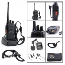 One 16CH 5W Long Range Walkie Talkie 2-Way Radio