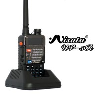 Misuta UV-5R FM Ham UHF VHF Walkie Talkie Radio + Earpiece