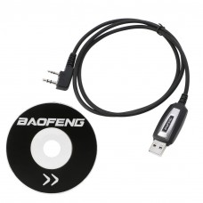 Baofeng USB Programming Cable With Driver CD