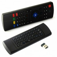 38322 2.4G Mini Wireless Fly Mouse Air Remote Qwerty Keyboard for Android Smart TV Box