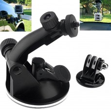 Car Mount Holder with tripod Adapter for Action Camera