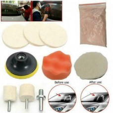 25541 8X Car Glass Polishing Marine Scratch Remover Window Windshield Repair Tool Kit