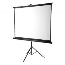 """Screen Portable White 100"""" 203x152cm 4/3  Pull Down Projector Cinema Tripod"""