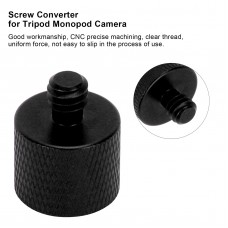1017 1/4 Male to 3/8 Female Screw Adapter for Tripod