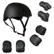 7 in 1 Protective Guard Safety Gear Black