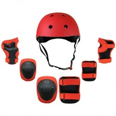 7 in 1 Protective Guard Safety Gear Red