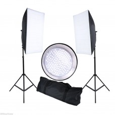 45121 50x70cm 144 LED Continuous Studio Light Lamp Kit