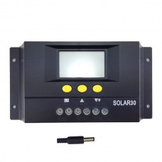 26322 30A 48V Solar Controller LCD PV Panel Battery Charge
