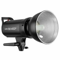 Godox SK400 II Studio Strobe LED Display Flash Lighting Head