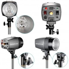 180W Studio Photo Flash Strobe Light Lamp