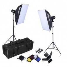 320W Studio Strobe Lighting Kit