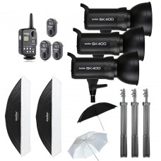 Godox 1200W Godox SK400 Studio Strobe Softbox Trigger Kit