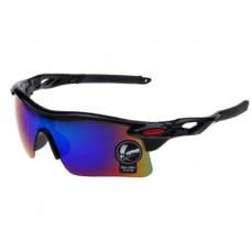 37612 Sunglasses UV400 Outdoor Sports Eyewear Men and Women Driving Cycling Blue