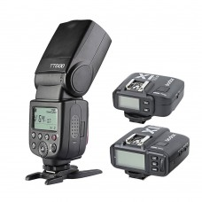 Godox TT600 Flash Speedlite Plus X1N Wireless Transmitter And Receiver for Nikon
