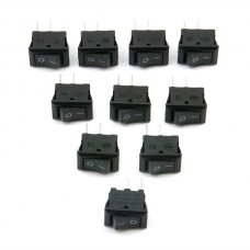 25724 10x Toggle Switch 12V Car Van Boat Waterproof ON/OFF