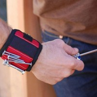 Magnetic Wristband with Two Strong Magnets Strap