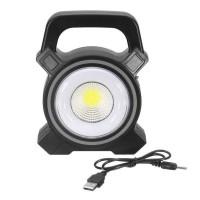 37633 Torch 30W Solar Portable Rechargeable LED Flood Light Outdoor Garden Work Spot Lamp