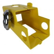 Hitch Lock For Caravan / Trailer With Padlock Heavy Duty Steel