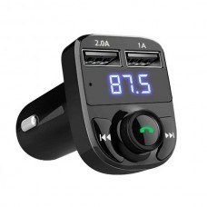 25712 Wireless Bluetooth Handsfree Car Kit FM Transmitter MP3 Player Dual USB Charger