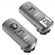 Neewer FC-16 Nikon Multi-Channel 2.4GHz 3-IN-1 Wireless Flash/Studio Flash Trigger with Remote Shutter