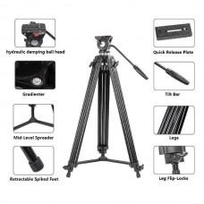 Zomei 74 Inch Tripod Heavy Duty for Camera Camcorder