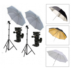 Flash Umbrella Holder Bracket Mount Stand Kit