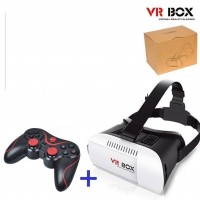 Virtual Reality Glasse plus Bluetooth GamePad