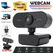 38323 Webcam  1080P HD Camera USB Video with Mic for PC Mac Desktop Laptop