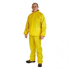 Yellow Waterproof Professional Work Rain Suit - Jacket + Over Trousers