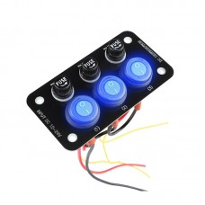 26433 12-24V Switch Panel with 10A for Car Camper