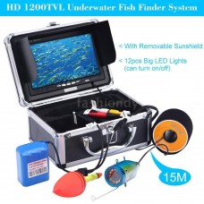 Underwater Fish Finder Camera with 7in LCD Monitor
